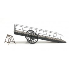 387372 Mobile Wooden Loading Ramp (HO scale 1/87th)